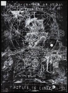 Kepler in Lintz, TOMAK, Öl und Acryl auf Leinwand, 2015