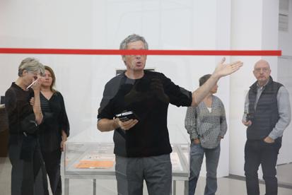 MUMOK-Kurator Matthias Michalka und sein eingeschränkter Blick auf die Kunst. MUMOK/Foto: http://eSeL.at