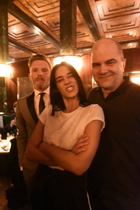 TOMAK, Edita Malovcic und Lukas Pusch nach der Lesung