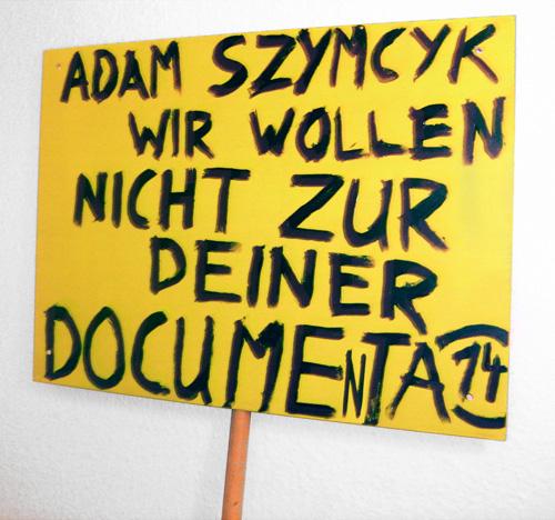 Der Künstler Daniel Chluba will nicht zur documenta 14