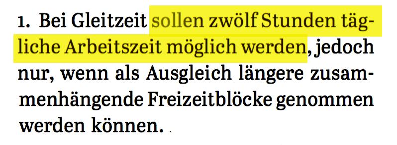 SPÖ Vorsitzender Christian Kern zum Thema Arbeitszeitflexibilisierung in seinem Plan A