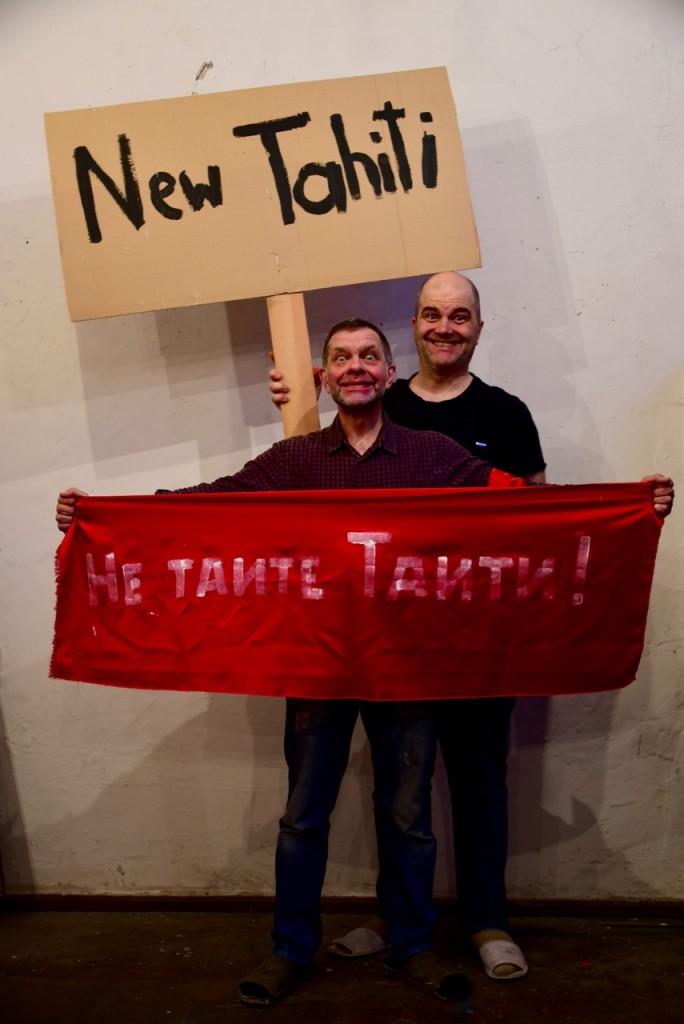 Lukas Pusch und Konstantin Skotnikov trainieren schon für die MONSTRATION am 1. Mai