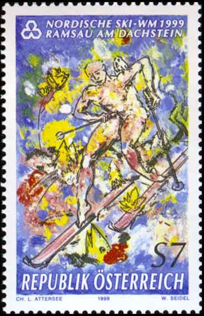 Dass Attersee Skifahrer für Herrenrennen genauso nackt malt, wird ausgeblendet.